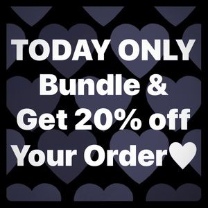 FREE SHIPPING & 20% OFF SALE🖤 TODAY ONLY🖤